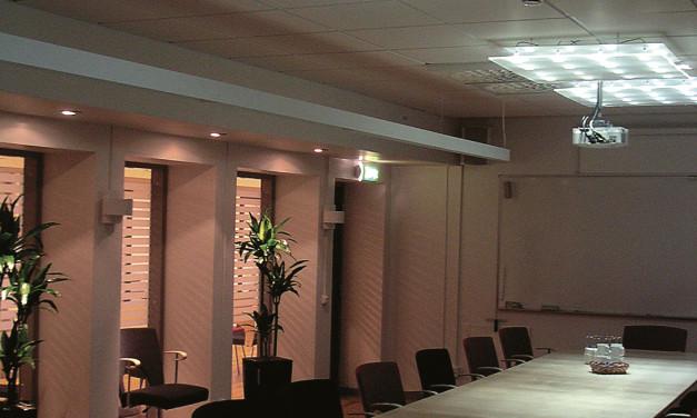 Fibre optics bring light to dark rooms