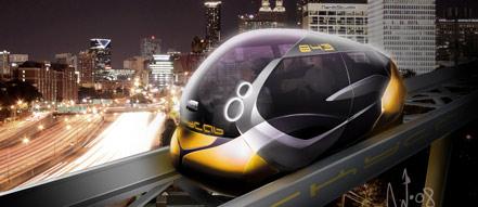 Vision SkyCab. Design Niklas Wejedal, nanikStudio.