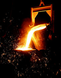 Replacing traditional black coal powder with Nayvoc for metals casting reduces greenhouse gas emissions by 50% to 90%.