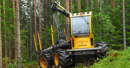 An Electric Hybrid for Forestry