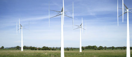 Vertical-axel windmills need fewer moving parts than traditional designs, keeping maintenance costs lower.