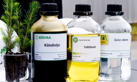 Pine Oil Diesel Cuts Carbon Emissions