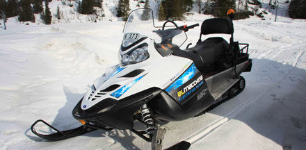 Introducing the Electric Snowmobile