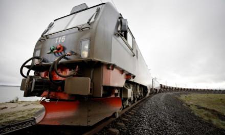 Eco-driving on rail