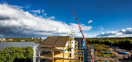 Wood construction on the rise