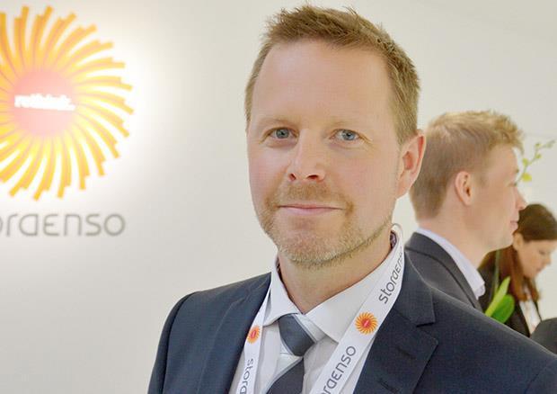 Fredrik Werner, food packaging business developer at Stora Enso
