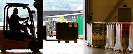 Sustainable forklift batteries