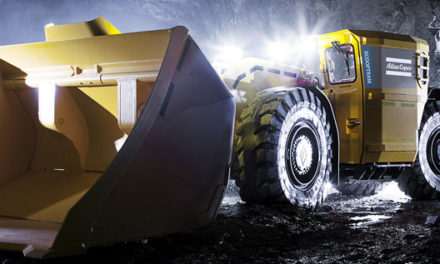 Cleaner mining operations with electric loaders