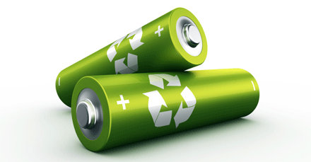Cellulose-based batteries