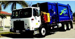 Garbage truck halves fuel consumption