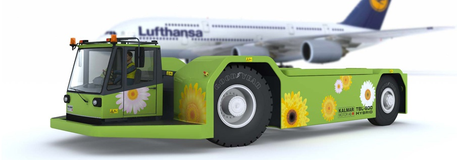 Hybrid aircraft tractors