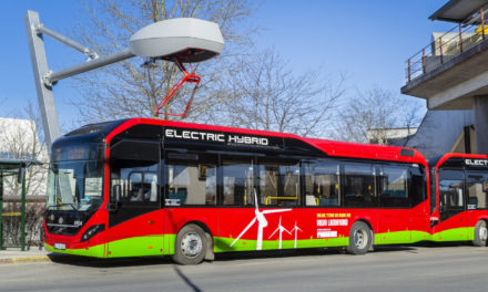 Electric buses improve the urban environment