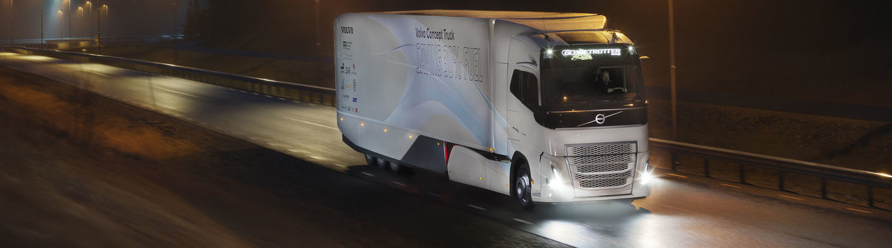 Hybrid for long haul transports